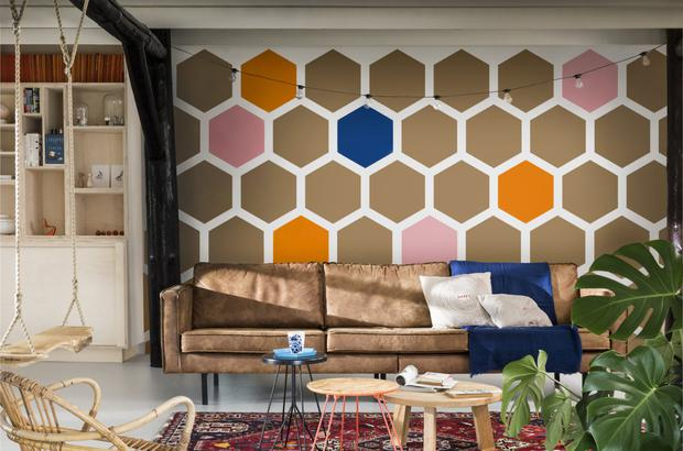 Dulux Future Colours of the year 2019 A place to act living room inspiration