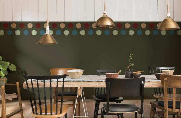 Dulux Future Colours of the year 2019 dining room inspiration