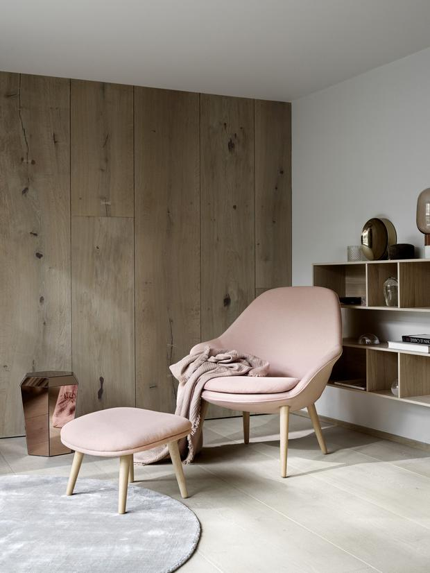 Chair necessity: The Adelaide living chair costs €1,399 with an extra €349 for a matching footstool