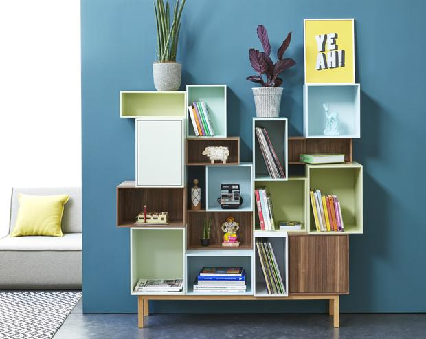 Tall Regal shelving system from Cubit
