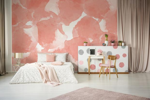 Pantone 2019 Sympatico wall decor from Pixers