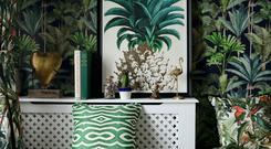 Tropical vintage linen from Mind The Gap