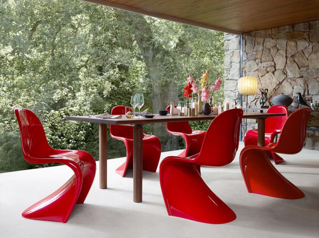 Panton Chair produced by Vitra from Minima