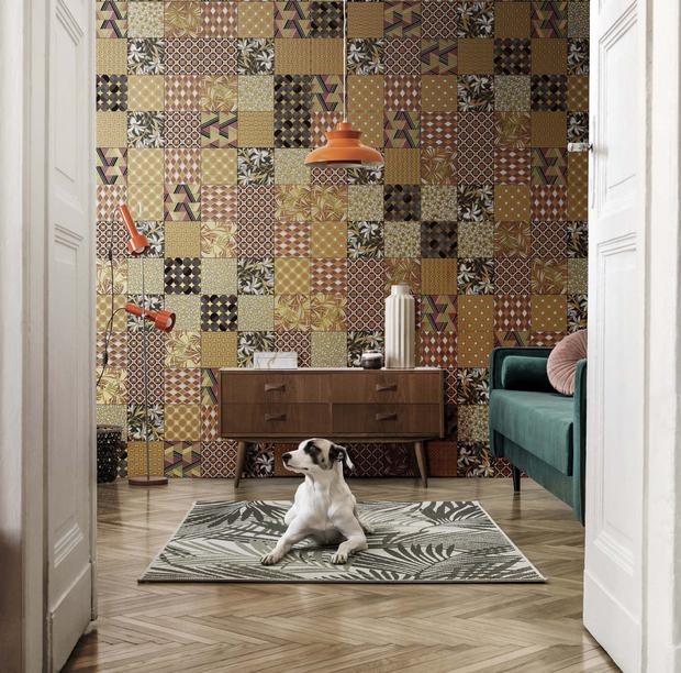 Adventurous paterned tiles by Target Group