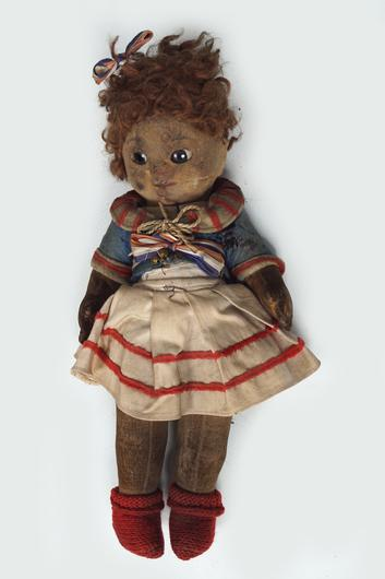 Doll from the Chad valley, probably made around 1927