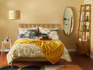 Allow space around the bed, furniture from John Lewis and partners