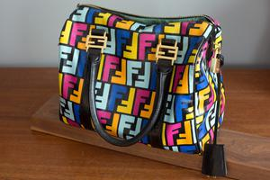 A Fendi handbag from pre-owned luxury marketplace the Vestiaire Collective.