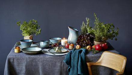 Tablescape from Helen James' Considered range for Dunnes Stores