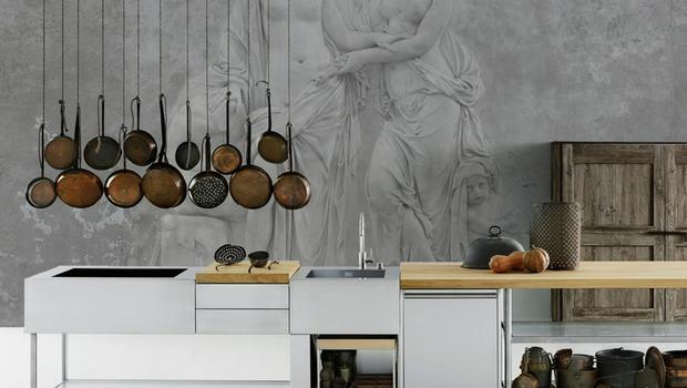 Ancient Greek Wallpaper Mural by Behan from Limelace