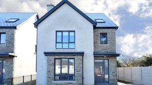 The houses extend to 2,080 sq ft over three floors and are priced from €495,000