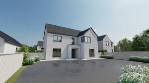 The development is less than 2km from the M8 motorway and is 6.5km from Thurles train station.