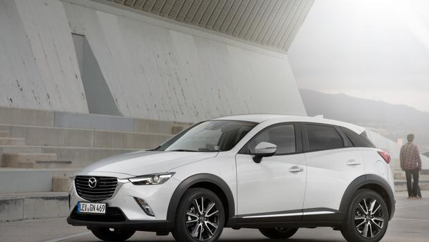 The Mazda CX-3 is on sale next month