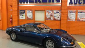 The 1969 Ferrari Dino 246 GT will be sold on June 15 by Merlin Car Auctions in Naas, Co Kildare.
