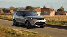 Stock photo of a Land Rover Discovery