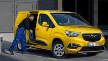 Opel's new electric Combo-e light commercial vehicle which has a range of up to 275km from a single charge.