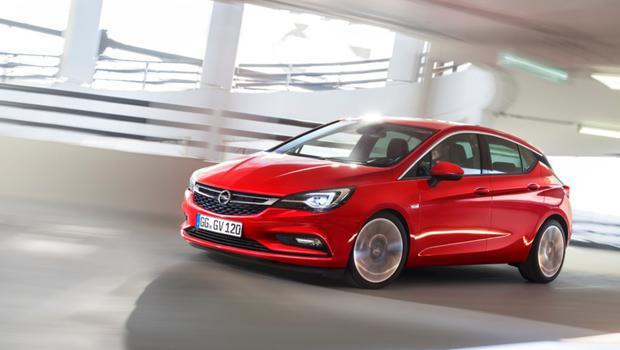 The Opel Astra