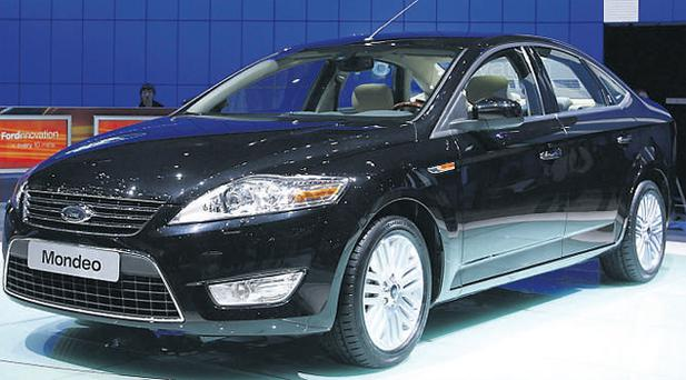 The Ford Mondeo was first introduced in 1993