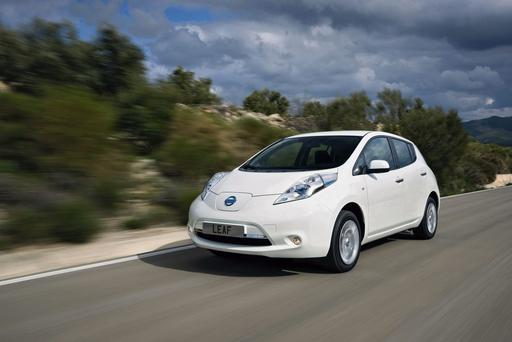 Nissan's newly revised LEAF