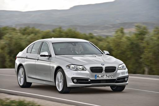 The BMW 5-series