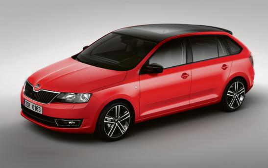 Skoda's new Rapid hatch