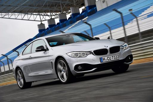 The BMW 4-series coupe