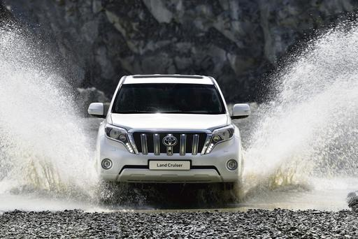 The giant Land Cruiser is undergoing a facelift