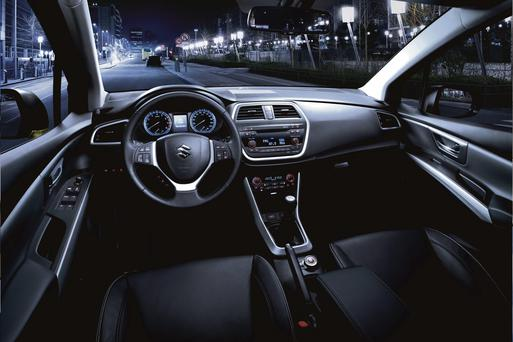 The dash of the Suzuki SX4-Cross