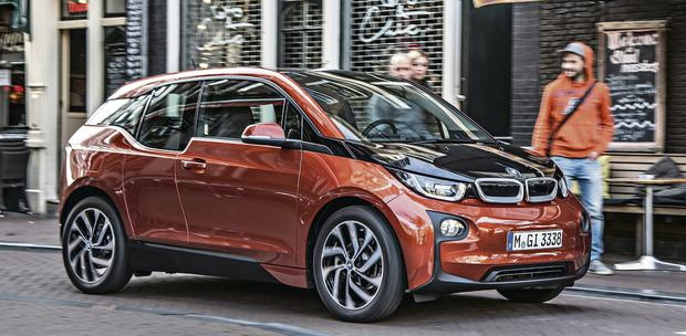 BMW's first electric car, the i3