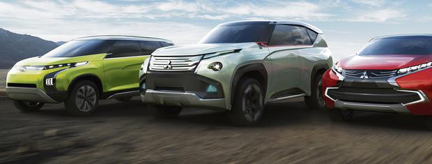The three concepts that Mitsubishi will unveil at the Tokyo Motor Show