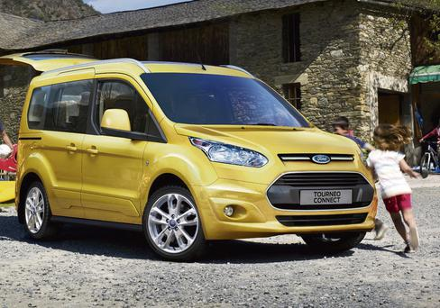 The Ford Tourneo Connect