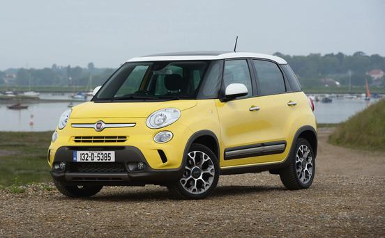 Male orders: It's hoped the Fiat 500L Trekking will draw in more male buyers