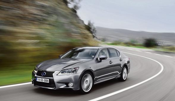 REFINED: The new Lexus GS300h boasts excellent drive quality and a 192km/h top speed