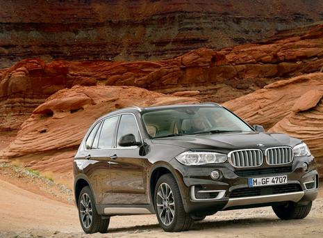 On song: The BMW X5