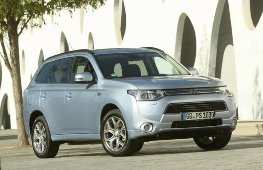 Going places: The new Mitsubishi Outlander PHEV
