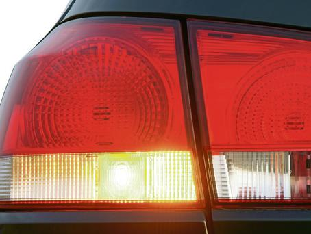A vehicle with a broken headlight poses a serious threat to safety on the road