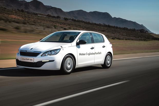 The PureTech version of the Peugeot 308.