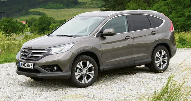 The Honda CR-V with its new 1.6 i-DTEC engine returns a very respectable 5.01/100km