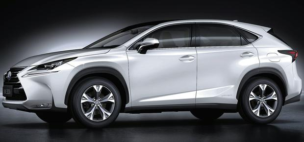 The new Lexus NX will come as either front or all-wheel-drive.