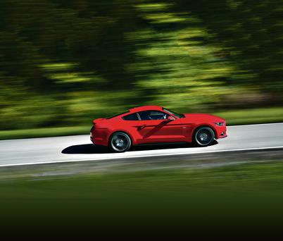 The Ford Mustang, which is 50 years old.