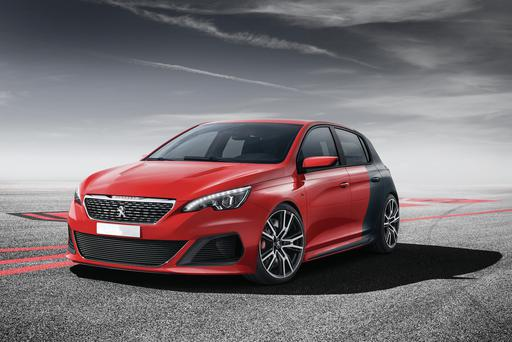 Concept version of a Peugeot released last year