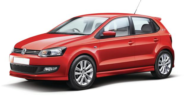 VW have put the cost of having your revised Polo ready for the road at €750.