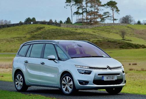 HONOUR ROLL: The Citroen C4 Grand Picasso has won a host of accolades. Photo: Max Earey