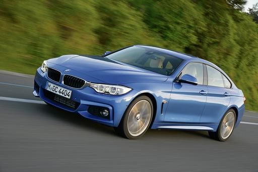 BMW's 4-series Gran Coupe