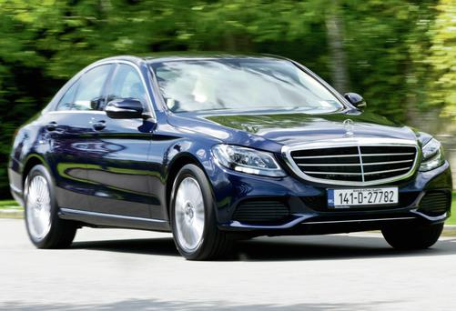 MAKING ITS MERC: The new C-Class starts at €37,750
