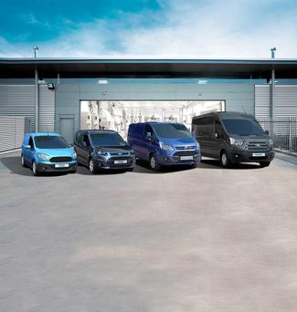 Van sales are up 36pc.