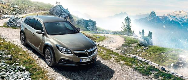 The Opel Insignia Country Tourer.