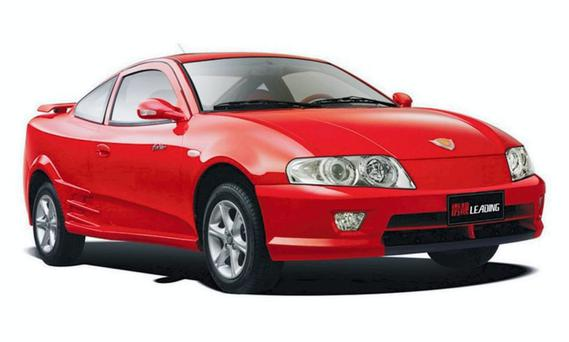 The Geely Beauty Leopard never caught on