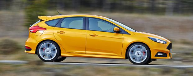 SUREFOOTED AND AGILE: Over hills and on the motorways, the new Ford Focus ST leads the way in the hot hatch stakes