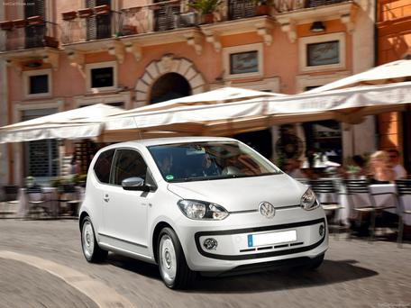 Top class: The VW up!
