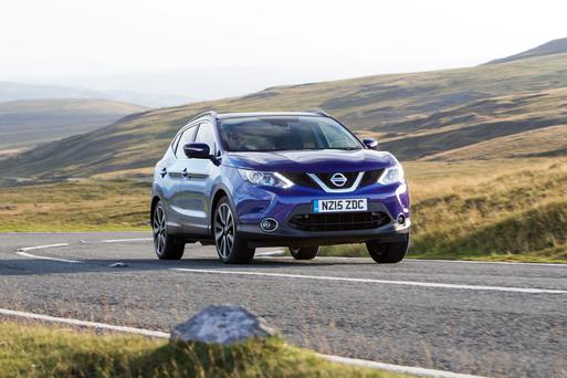 Nissan Qashqai is one of the best selling cars of 2017